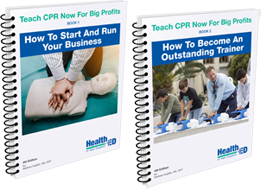 Teach CPR for big profits books